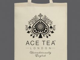 NEW – Ace Tea's Natural Cotton Tote Bag