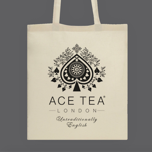Ace Tea Natural Cotton Tote